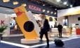 Estande da Kodak na CES 2018, em Las Vegas
