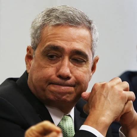 O ex-executivo da JBS Ricardo Saud presta depoimento à CPI da JBS Foto: Givaldo Barbosa/Agência O Globo/31-10-2017