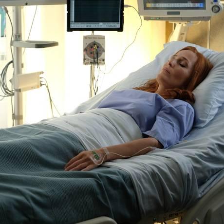 Fox Mulder (David Duchovny) e Dana Scully (Gillian Anderson) em cena da nova temporada de 'Arquivo X' Foto: Divulgação