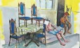 """Pintura. O quadro de Thalles Olgador está na mostra """"Bela verão"""""""