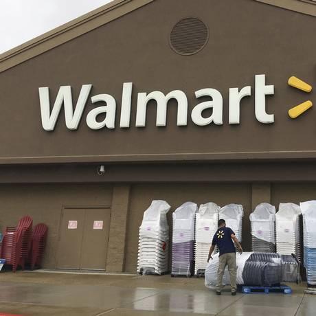 Loja da Walmarte em Salem, nos Estados Unidos. Foto: Elise Amendola/AP