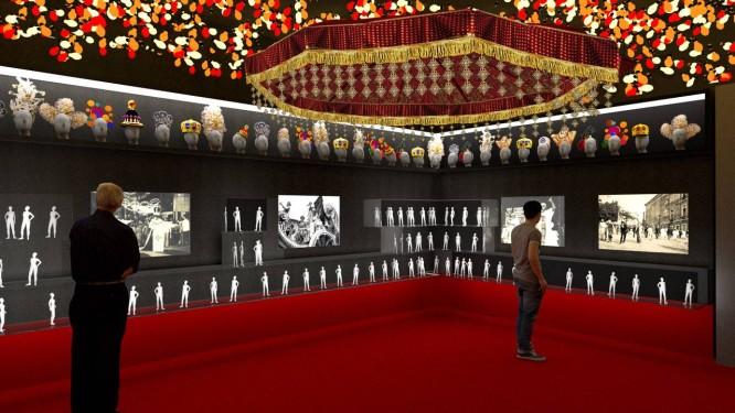 Sala Origem, na Casa do Carnaval, novidade a partir de fevereiro em Salvador Foto: Divulgação