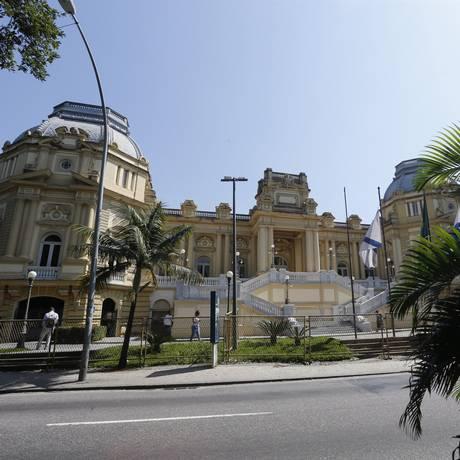 A fachada do Palácio Guanabara, sede do governo do estado Foto: Antonio Scorza - 06/09/07 / Agência O Globo