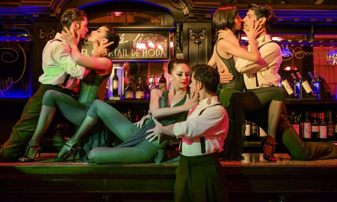 El Querandí, em Buenos Aires, apresenta espetáculo de tango bonito e sofisticado Foto: Divulgação