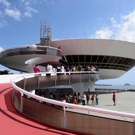 Museu de Arte Contemporânea (MAC) Foto: Leonardo Simplicio / Agência O Globo