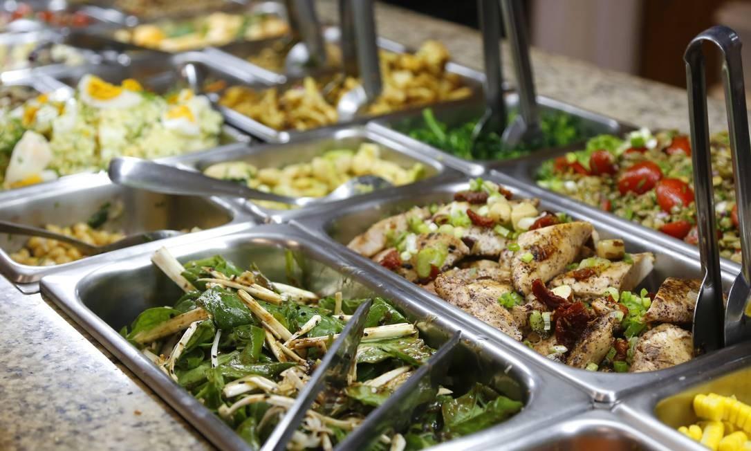 Restaurantes com serviço self-service não poderão cobrar taxa de serviço dos consumidores Foto: Fábio Rossi/03-05-2017