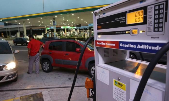 Petrobras anuncia novo reajuste com queda de 1,60% no preço da gasolina
