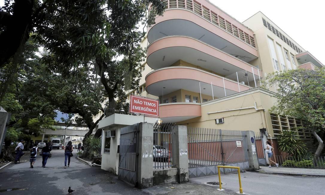 Hospital Universitário Pedro Ernesto Foto: Domingos Peixoto / Agência O Globo