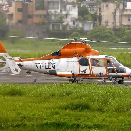 Helicóptero da estatal Pawan Hans Foto: WIKIPÉDIA