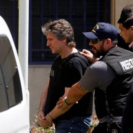 O ex-presidente da Argentina Amado Boudou foi preso em novembro Foto: MARTIN ACOSTA / Reuters