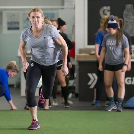 Jessica Platt é jogadora de hóquei na Liga Canadense Foto: Reprodução