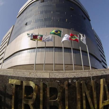 Entrada do TRF-4, em Porto Alegre. Foto: Sylvio Sirangelo / TRF-4
