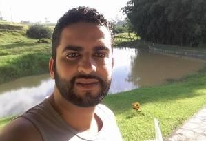 Cristiano Frias foi atingido na sobrancelha em Guadalupe Foto: Reprodução/Facebook