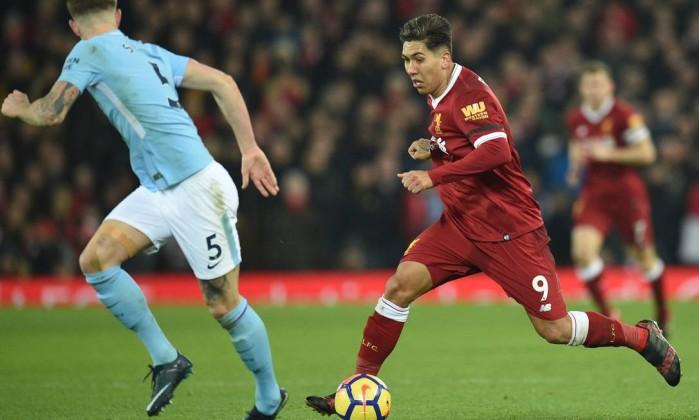 Liverpool-Manchester City: Teste de fogo aos líderes