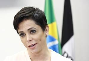Deputada Cristiane Brasil (PTB-RJ) teve a posse no Ministério do Trabalho suspensa Foto: Agência O Globo