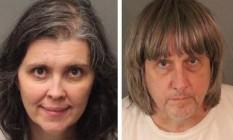 Pais foram presos sob acusações de tortura e ameaça à infância Foto: Riverside County Sheriff's Department