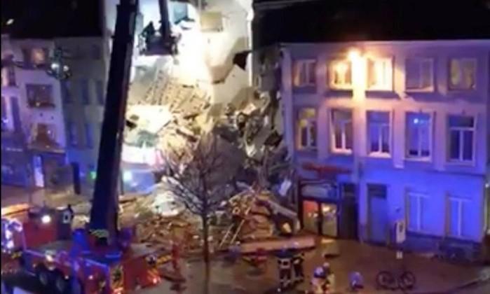 Explosão em Antuérpia fez dois mortos e 14 feridos
