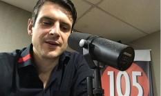 Marcelo Hodge, filho de Crivella, vira locutor de programa de rádio Foto: Reprodução