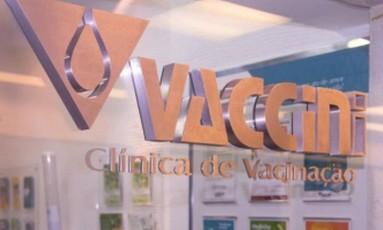 Clínica particular Vaccini ainda possui algumas doses da vacina de febre amarela Foto: Reprodução