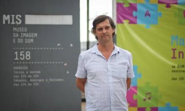 André Sturm, quando ainda era diretor do Museu da Imagem do Som, em SP Foto: Marcos Alves / Agência O Globo