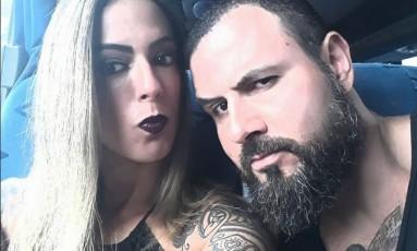 Luciana e Marcus Vinicius Foto: Facebook / Reprodução