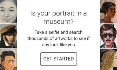 Google Arts & Culture: aplicativo ainda não está disponível no Brasil Foto: Reprodução