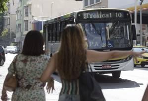 Ônibus terão mudança de tarifa Foto: Alexandre Cassiano/10-01-2016 / Agência O Globo