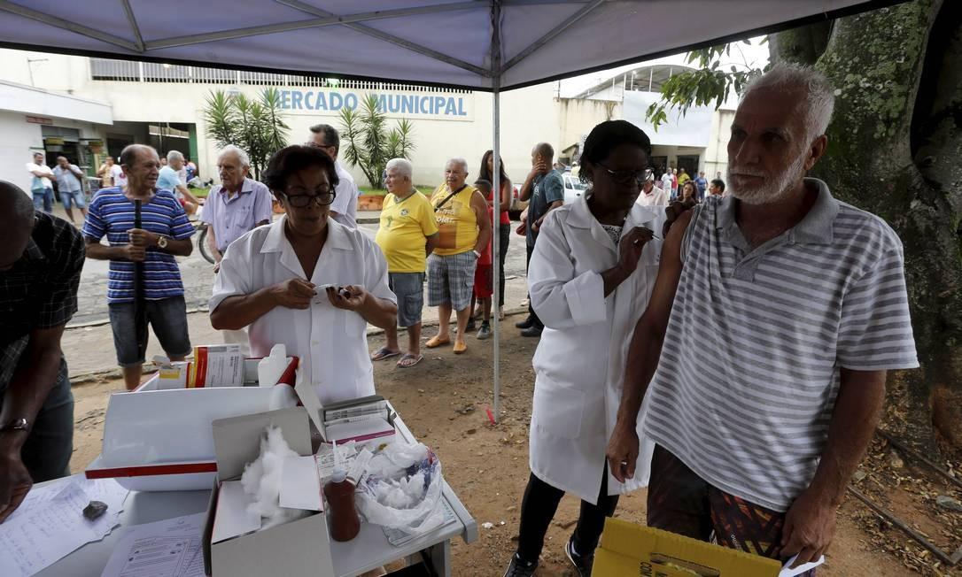 Febre amarela: alguns municípios do Rio enfrentam situação preocupante