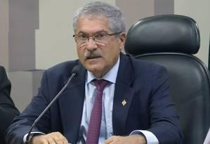 O deputado José Rocha (PR-BA), durante sessão de comissão da Câmara Foto: Leonardo Prado/Câmara dos Deputados/13-06-2017