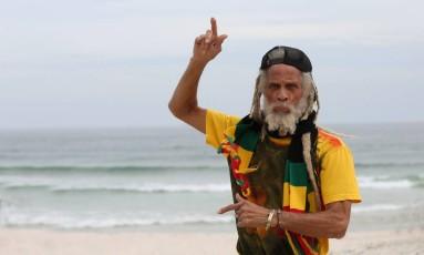"""""""O futuro do reggae é o futuro da música. Ele só está ficando melhor"""", diz o cantor Cedric Myton Foto: Custódio Coimbra / Agência O Globo"""