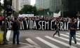 Movimento Passe Livre protesta contra aumento da tarifa de ônibus em São Paulo Foto: Divulgação