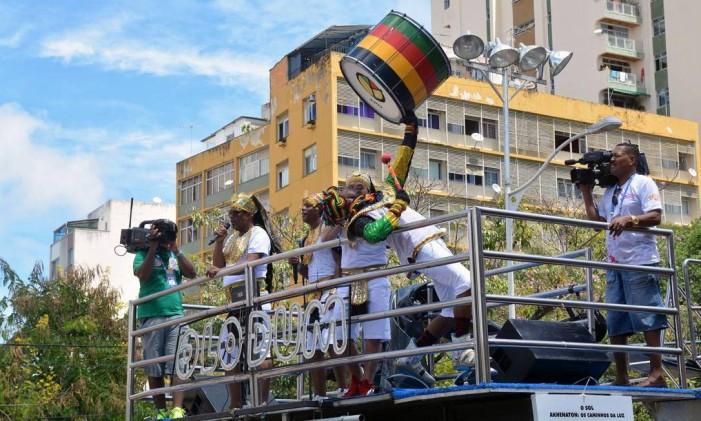 Carnaval 2017 em Salvador, na Bahia: Olodum no Campo Grande Foto: Divulgação