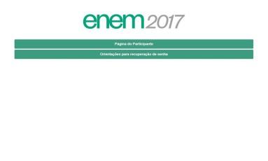 Candidatos devem acessar o site do participante com CPF e senha Foto: REPRODUÇÃO