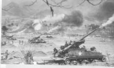 Conflitos durante a Guerra da Coreia, em 1951 Foto: Reprodução