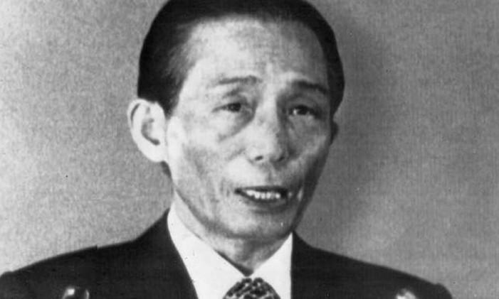 O então presidente sul-coreano, Park Chung-Hee, sofreu tentativa de assassinato Foto: AP