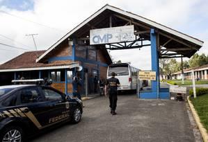 Entrada do Complexo Médico-Penal, no Paraná Foto: Rafael Fortes / Freelancer