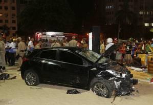 Motorista foi levado para a 12ª DP (Copacabana) Foto: Antonio Scorza / Agência O Globo