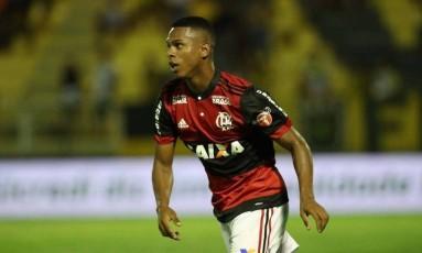 Lucas Silva tem contrato com o Flamengo até o fim do ano Foto: Gilvan de Souza/Divulgação Flamengo