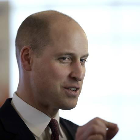 O novo look do príncipe William: melhor assim? Foto: Matt Dunham / AP