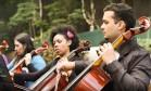 Orquestra na Rua Foto: Divulgação