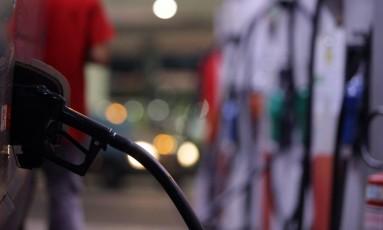 Posto de combustível na Tijuca. Foto: Roberto Moreyra / Agência O Globo