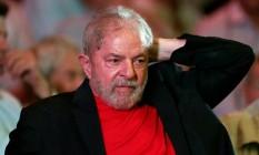 O ex-presidente Lula em evento no dia 18 de janeiro Foto: Leonardo Benassatto / REUTERS