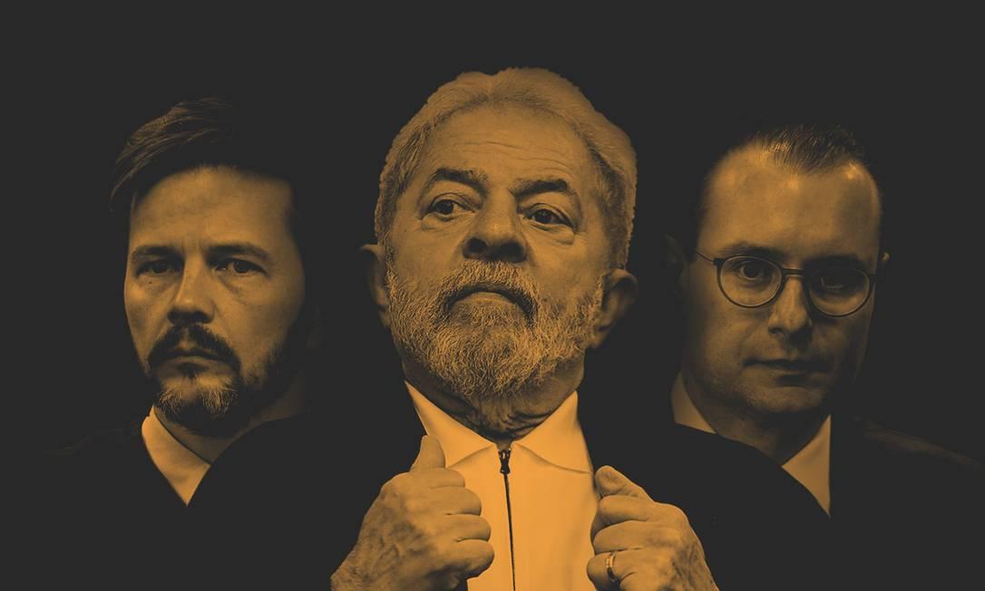 Entenda o passo a passo do julgamento de Lula no TRF-4 Foto: Editoria de Arte