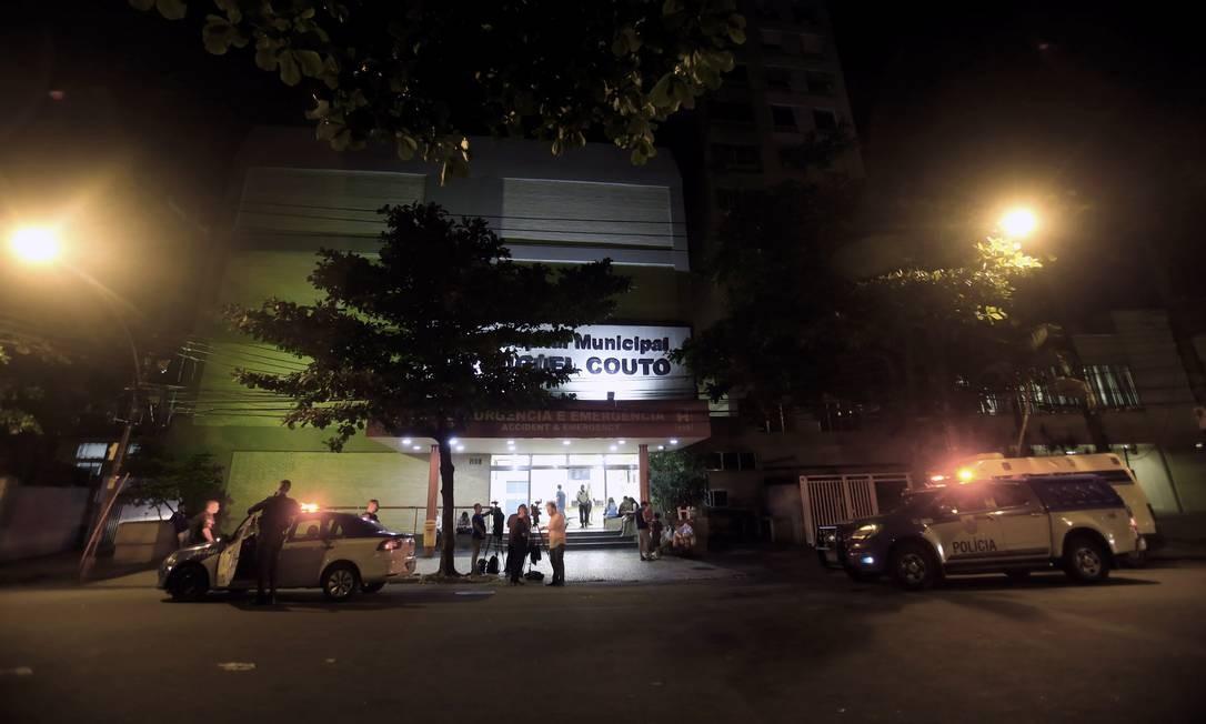 Hospital Miguel Couto Foto: Luiz Ackermann / Agência O Globo