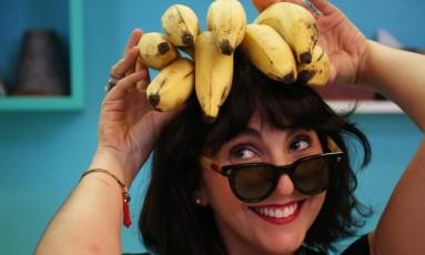 """Há possibilidades incríveis na cozinha vegana"", diz a chef Larissa Abbud Foto: Custódio Coimbra / Agência O Globo"