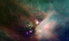 """Foto do complexo de nuvens interestelares Rho Ohiuchi, """"berçário de estrelas"""" a 407 anos-luz Sistema Solar: avião da Nasa ajuda investigação de astrônomos nos EUA Foto: Divulgação/Nasa"""