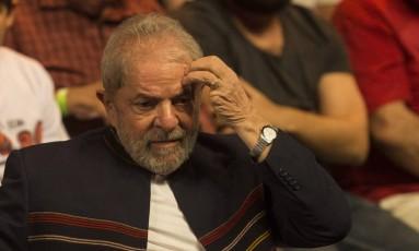O ex-presidente Luiz Inácio Lula da Silva Foto: Guito Moreto / Agência O Globo 16/01/2018