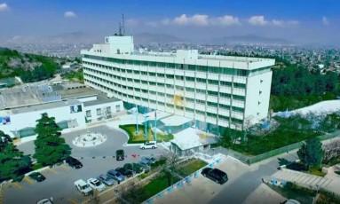 Hotel Intercontinental, em Cabul Foto: Divulgação