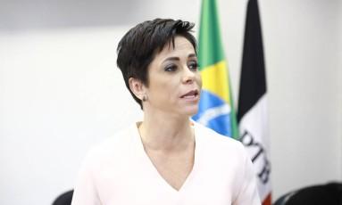 Deputada Cristiane Brasil (PTB) Foto: Agência O Globo