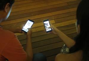 Aprimorar as formas de combate e punição a quem produz e distribui notícias falsas na internet é um dos desafios do TSE e da PF Foto: Fábio Rossi / Agência O Globo